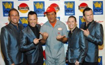Human Nature (Toby, Andrew, Michael, Phil) stars of Motown show at Imperial Palace
