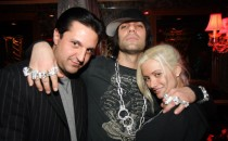 Criss Angel and Holly Madison