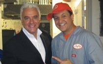 John O'Hurley, from the sitcom Seinfeld and host of Family Feud