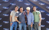 Johnathan Scott, Murray, Drew Scott at America's Got Talent (Property Brothers