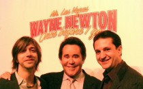 Wayne Newton press conference, wtih Wayne and Seth Yudof