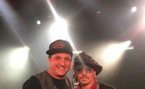 Douglas and Johnny Depp