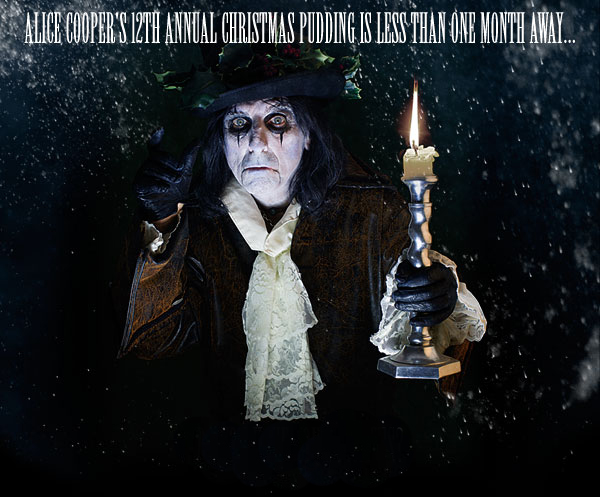 alice cooper christmas pudding tickets