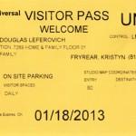Universal visitor pass