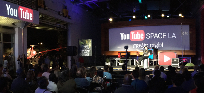 YouTube Space LA Show presents: Magic Night 04