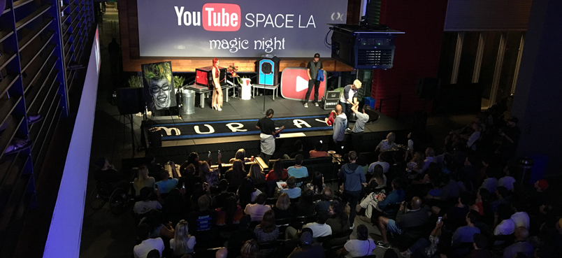 YouTube Space LA Show presents: Magic Night 07