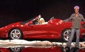 NBC's America's Got Talent - The Appearing Ferrari